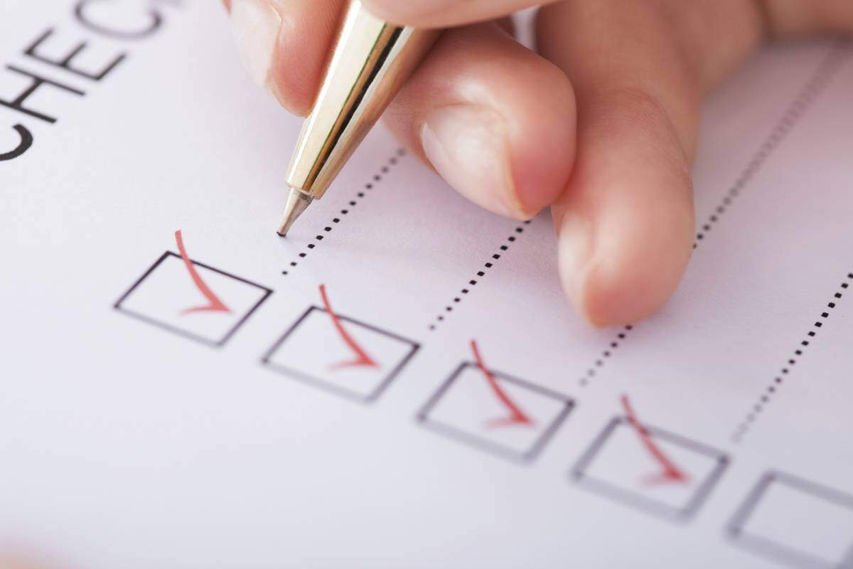 Making home loan checklist